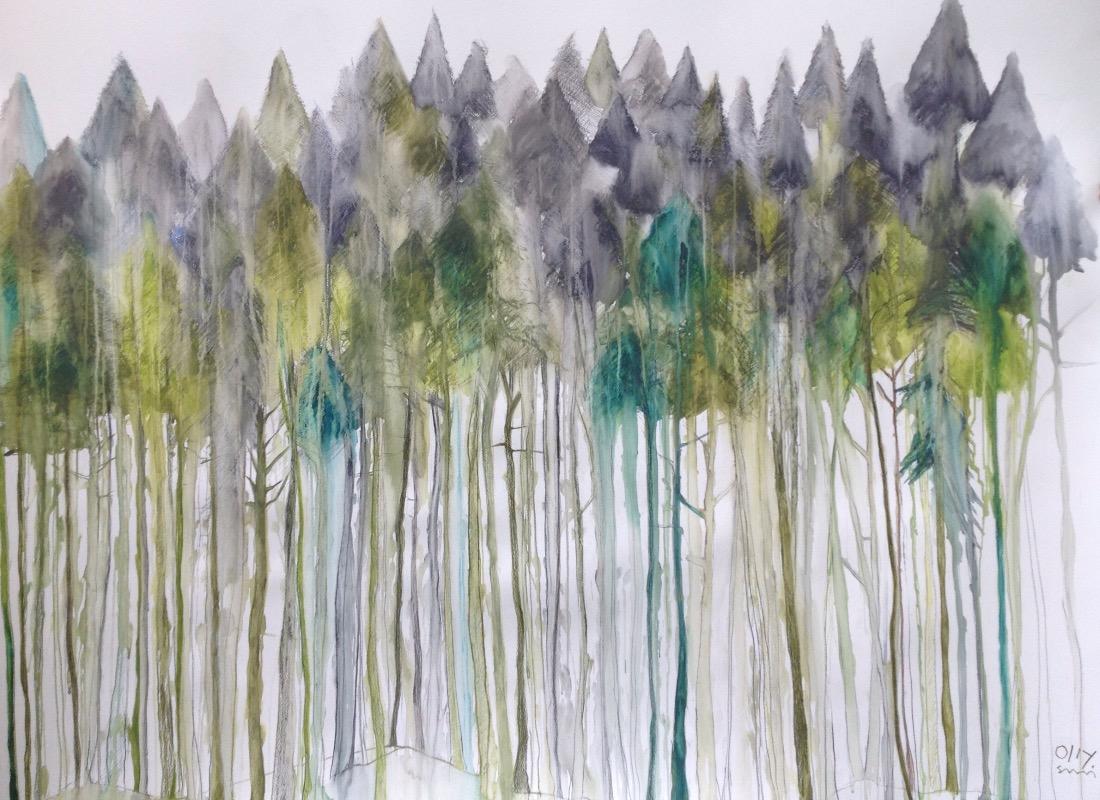 Norwegian pines